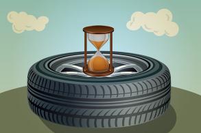 Afinal, os pneus duram seis ou dez anos?