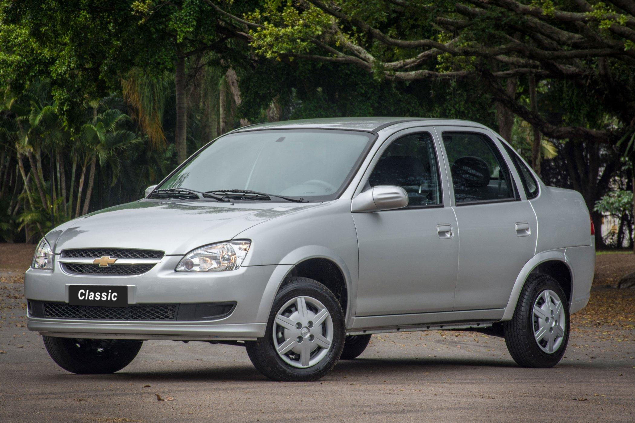 7 carros vendidos no Brasil por mais de 20 anos: Chevrolet Corsa Sedan