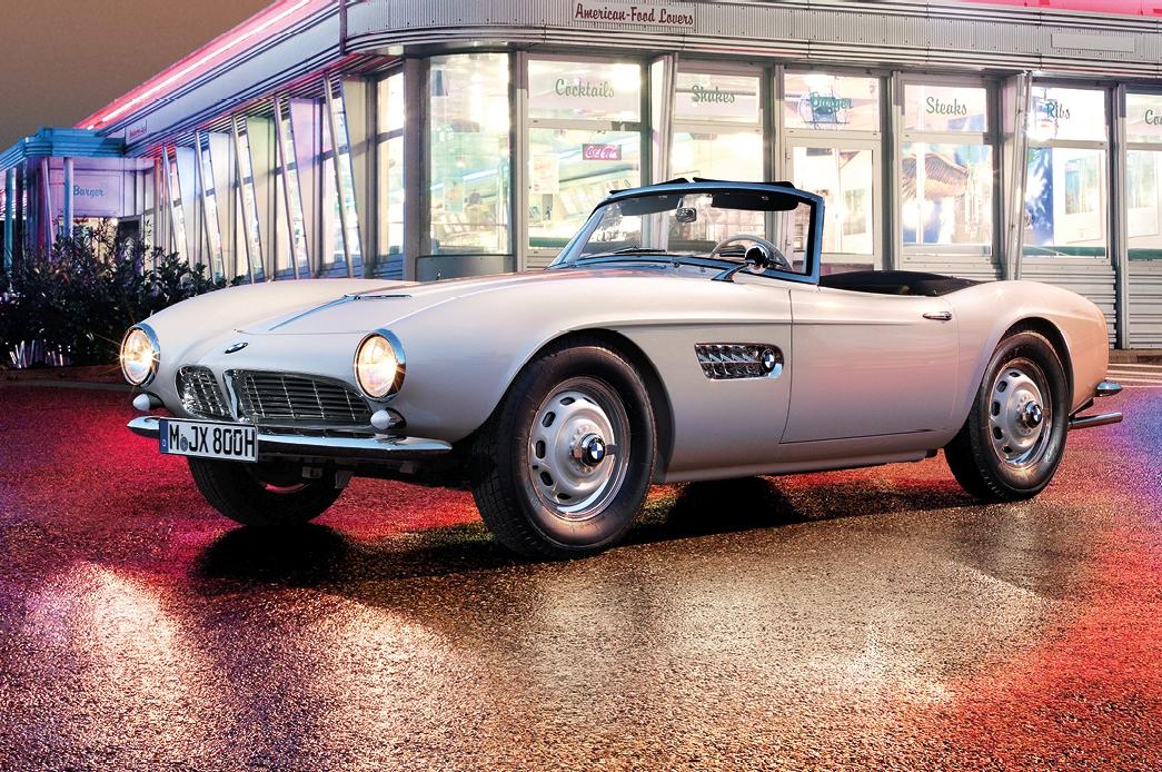 BMW 507 de Elvis Presley depois de ser restaurada carros de celebridades