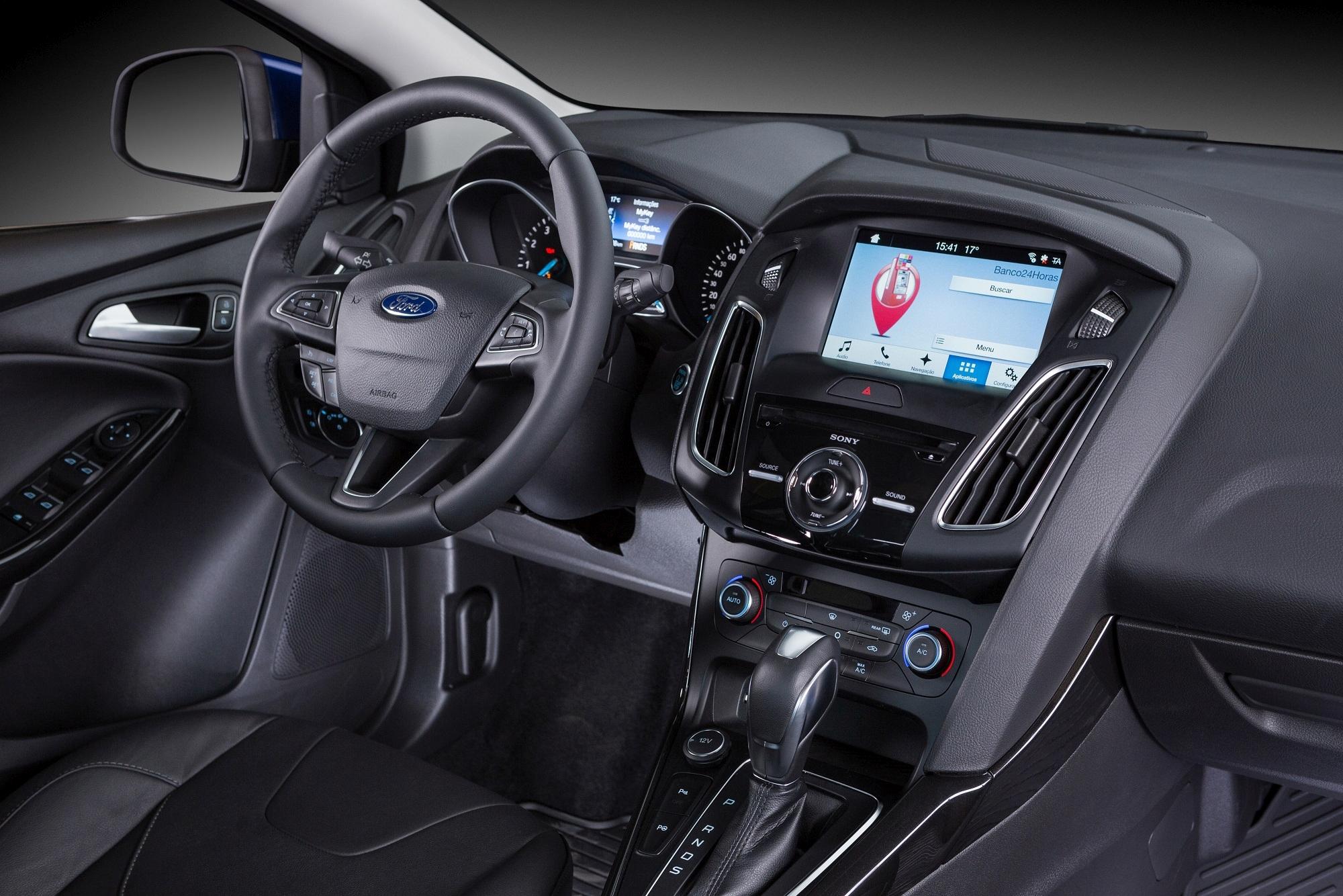 Ford Focus 2017 com novo sistema Sync