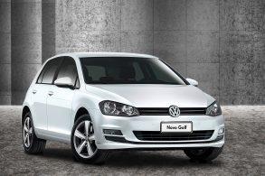 Volkswagen Golf em recall de airbags que explodem