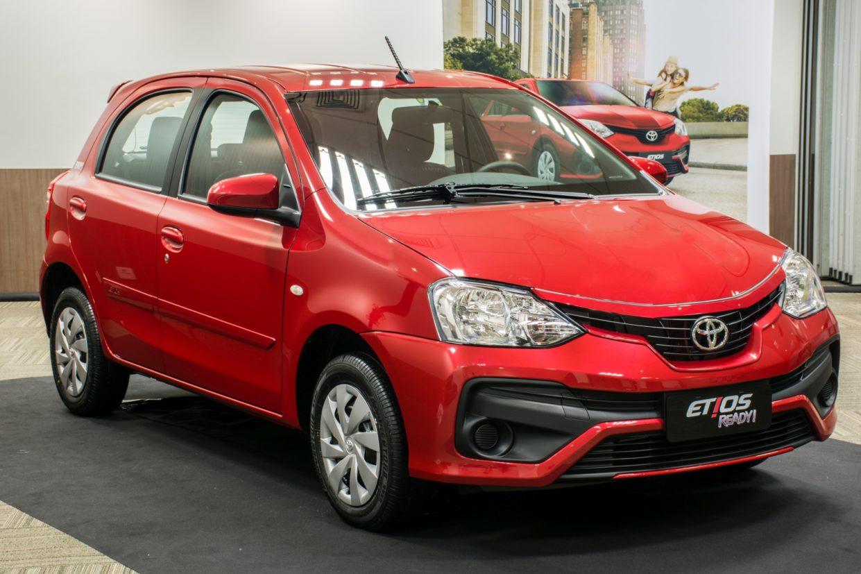 Toyota Etios hatch: 41.986 unidades vendidas