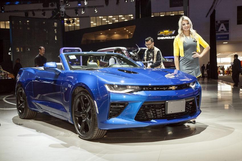 Chevrolet Camaro conversível: Esportivos com apelo histórico, híbridos, elétricos e até conceitos estão entre os carros esportivos no Salão de São Paulo de 2016.