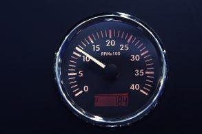 Fique atento à faixa de rotação do motor