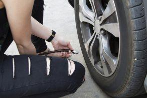 Areia? Reduza a pressão dos pneus em 10 libras!