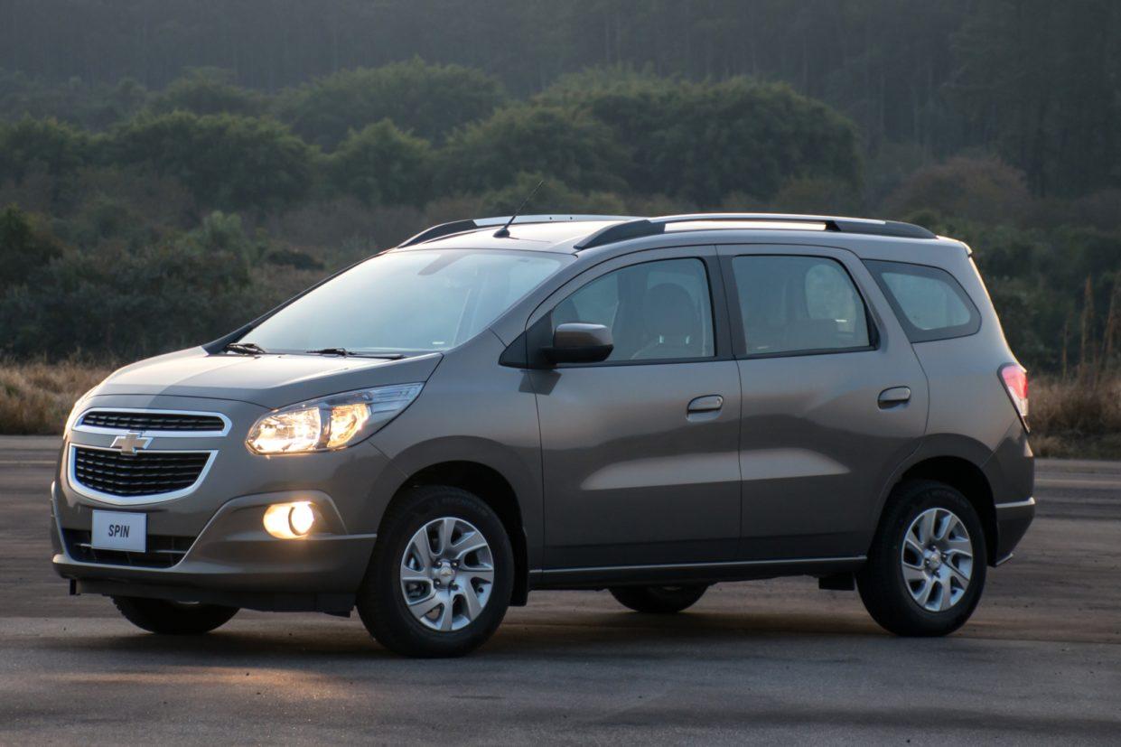 Nomes animais: Chevrolet Spin tem o apelido de capivara