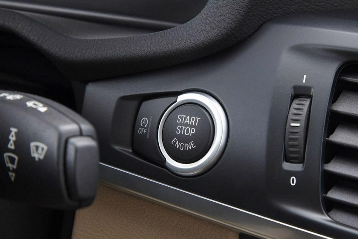 2011 bmw x3 auto start stop button  960 6401