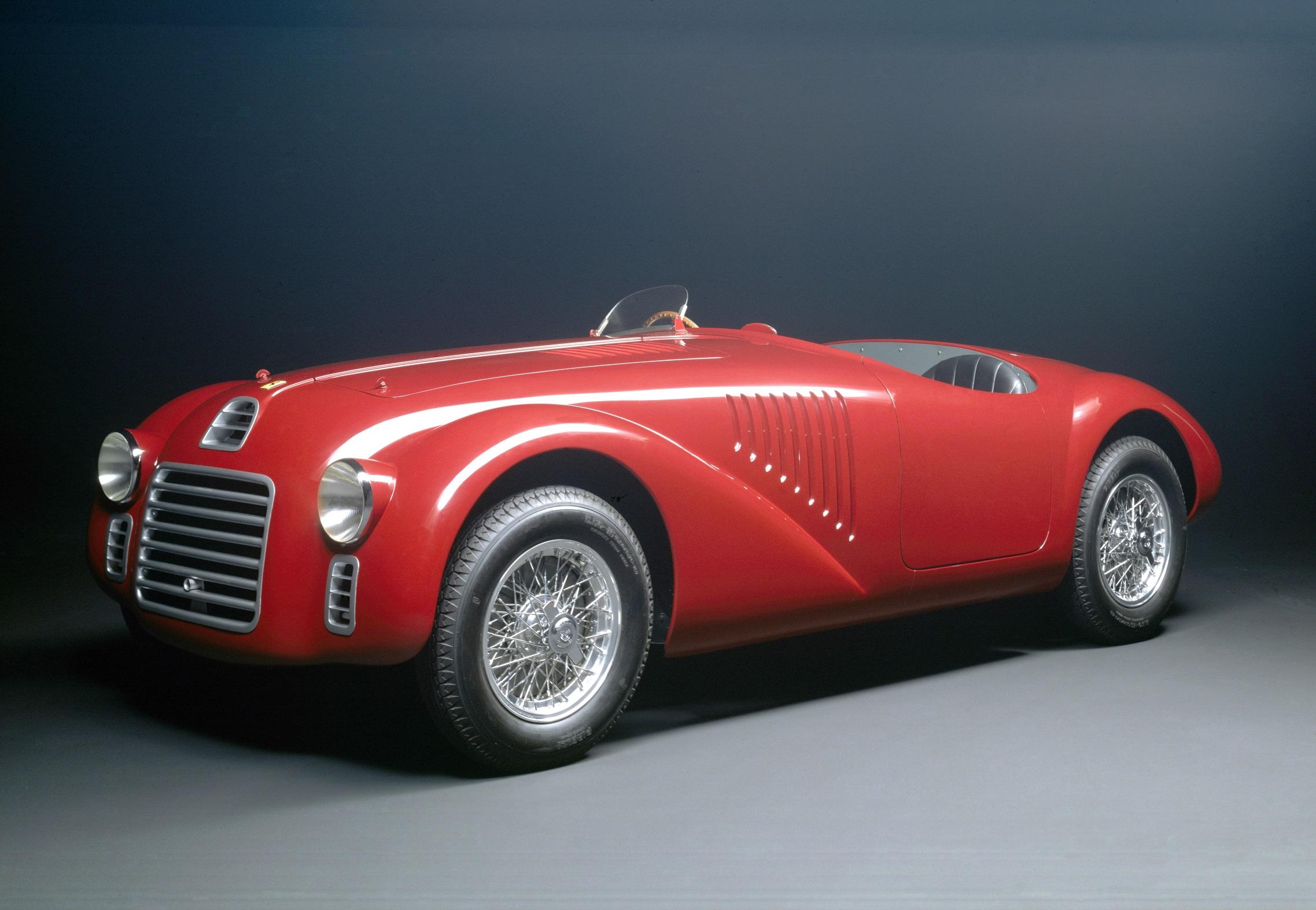 Réplica da 125 S feita em 1987 para comemorar os 40 anos da Ferrari; o modelo original foi desmontado e suas partes serviram de componentes para outros veículos (Ferrari/Divulgação)