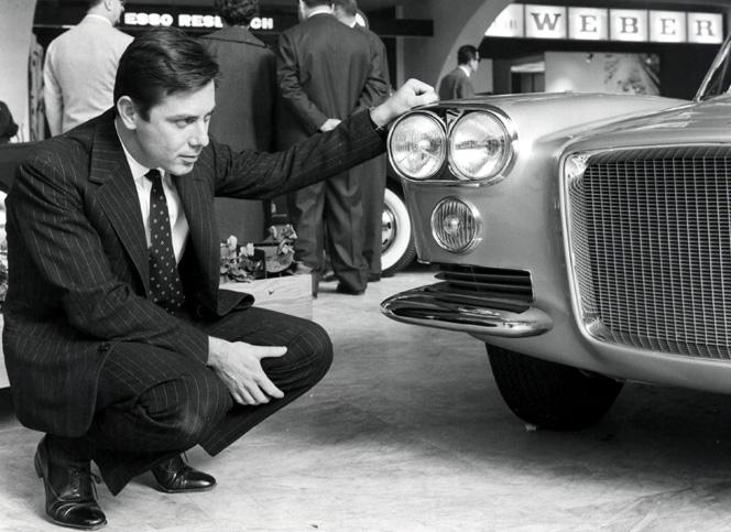 Sergio Pininfarina era filho do fundador do estúdio e o acompanhou durante a longa parceria com a Ferrari (Reprodução) marca de carros da pininfarina