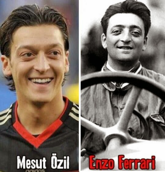 Özil ou Enzo, o futuro dirá quem foi melhor (Reprodução da internet)