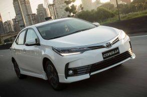 [Recall] Quase 120 mil unidades do Toyota Corolla são convocadas