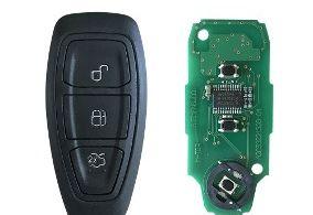 Chave dentro do controle remoto sem bateria