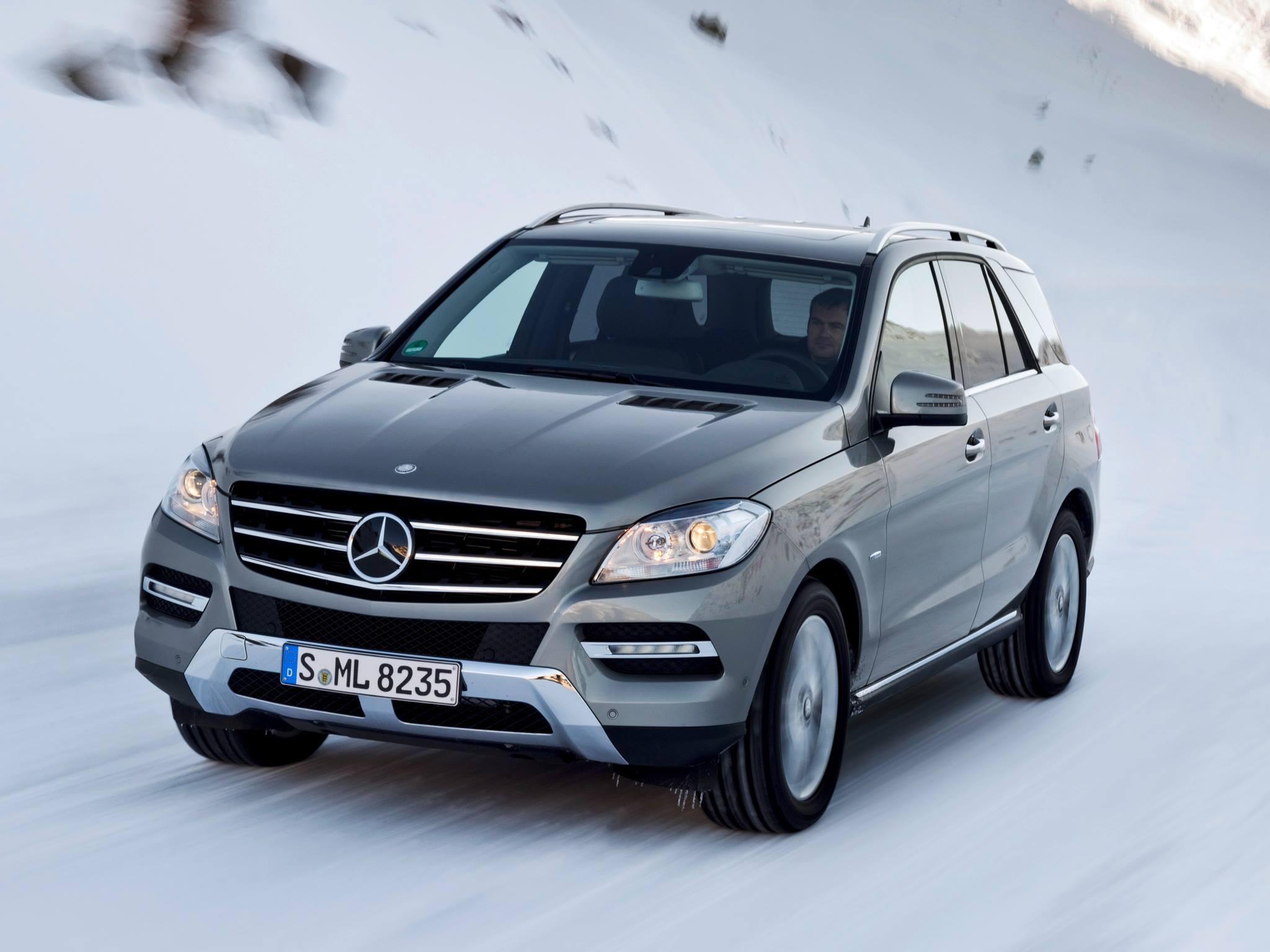 Cento e oitenta e seis unidades dos modelos Mercedes GL, GLE, GLS e ML foram convocadas para reparar um problema no reservatório de óleo da suspensão ativa.