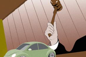 Cuidado na hora de comprar um carro de leilão