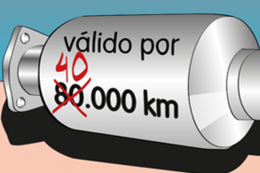 Catalisador: troca aos 40 ou 80 mil km?