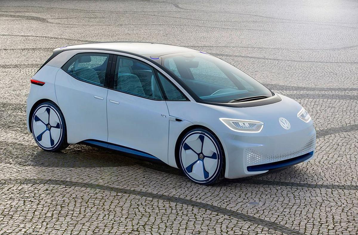 Carro elétrico da Volkswagen
