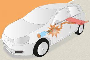 O catalisador pode incendiar o seu automóvel