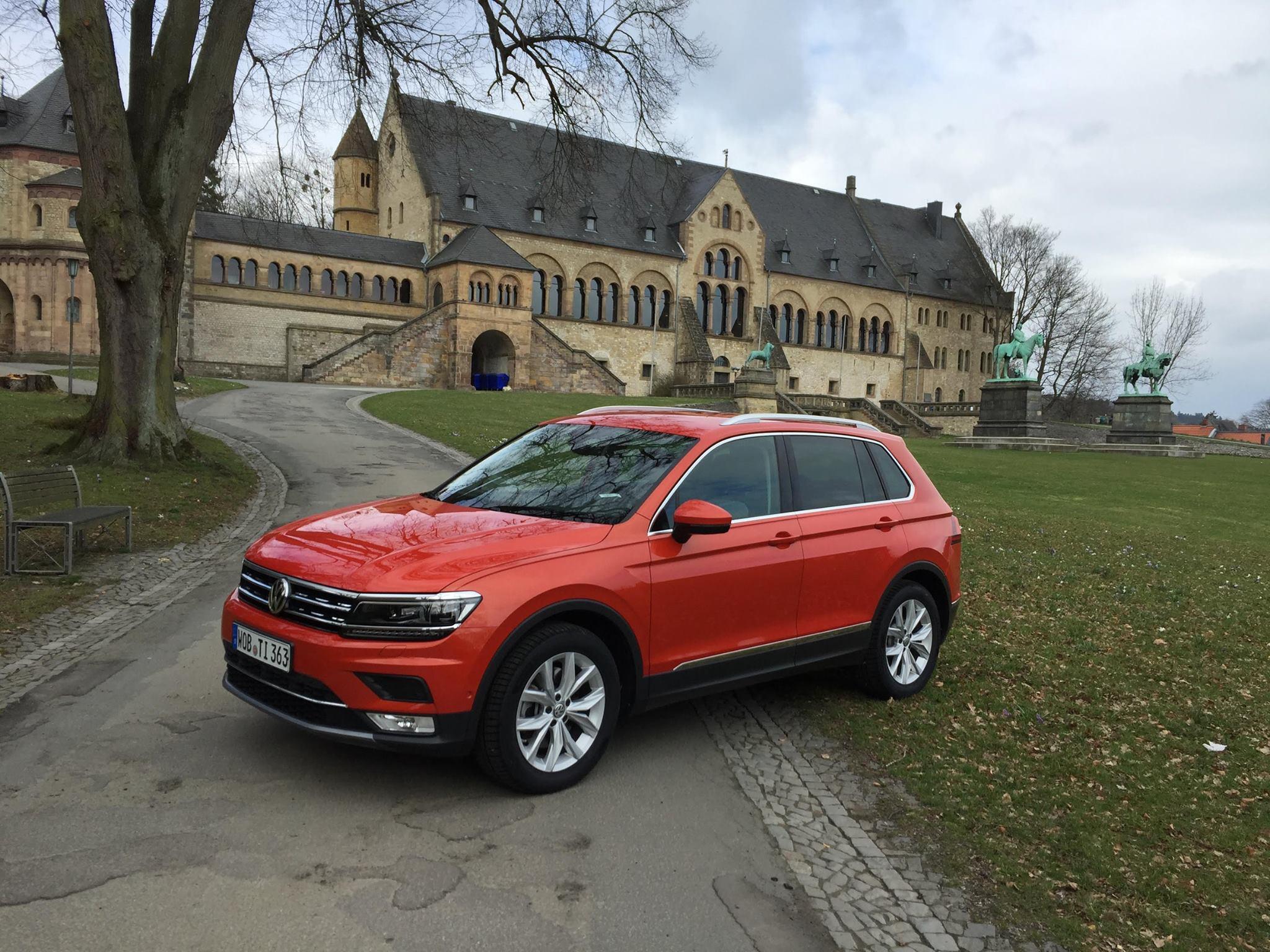 VW Tiguan Allspace, que ficará posicionado acima de T-Cross e Tharu