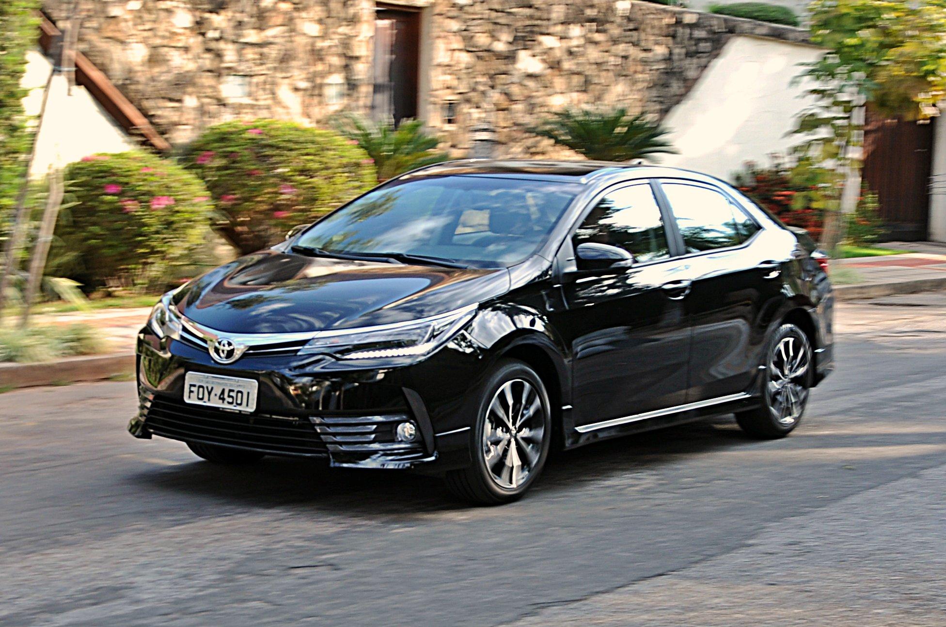 Toyota Corolla XRS: frente