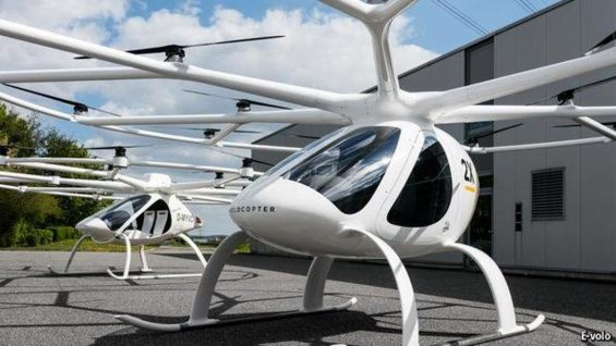 uber Volocopter