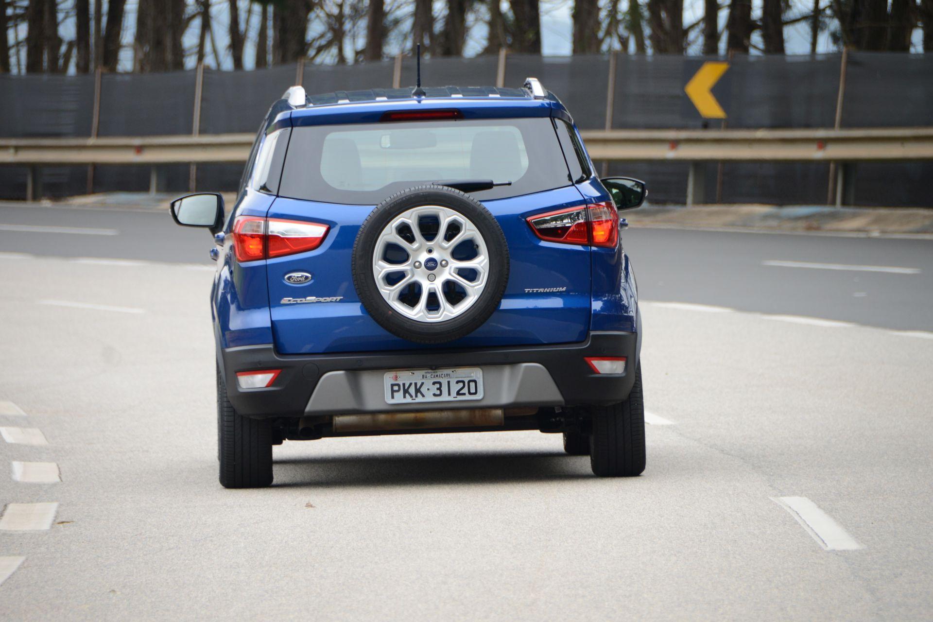 Ford EcoSport 2018 e 2019 é convocado para recall do software do módulo de controle do motor. Problema pode fazer o propulsor de 21 mil unidades parar sozinho.