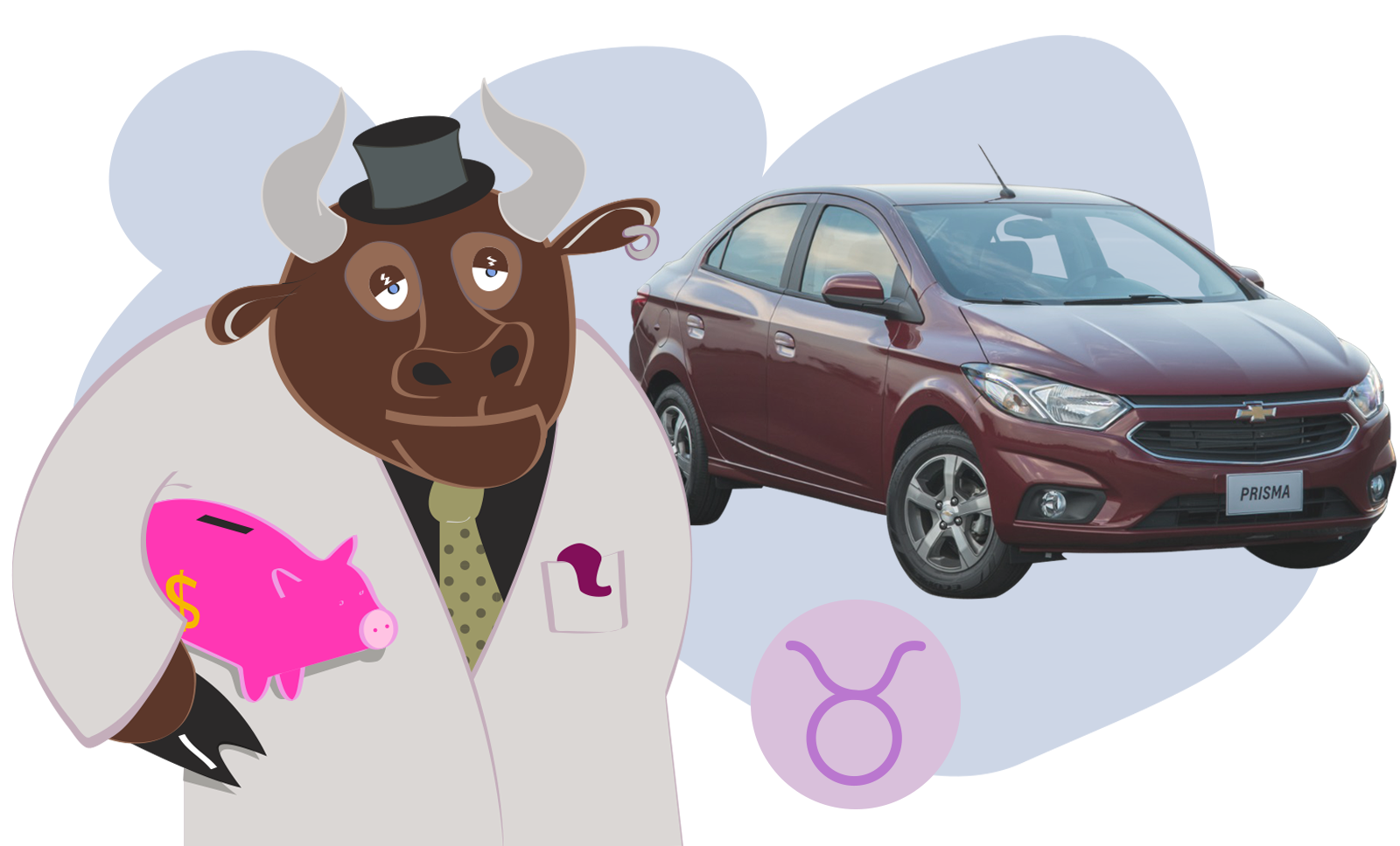 Carro de cada signo: Prisma para touro