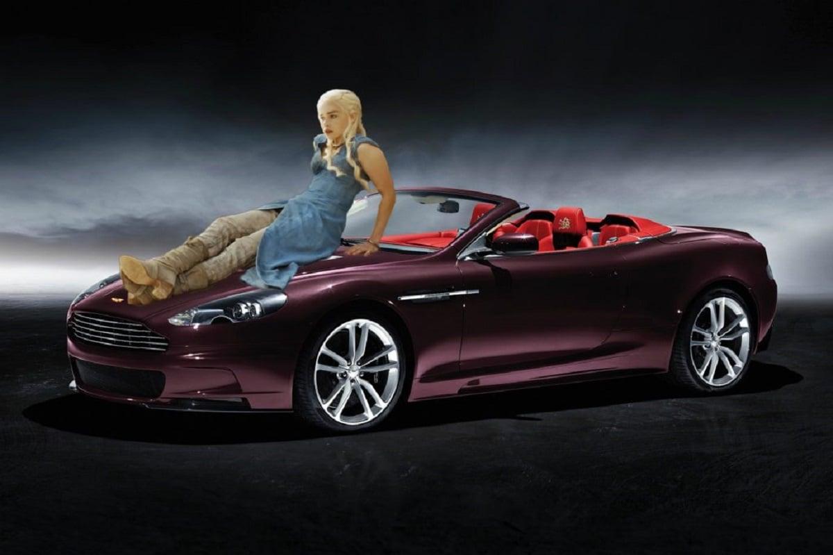 Daenerys Targaryen é um Aston Martin DBS Volante Dragon 88 (Bárbara Angelo | AutoPapo). Transformamos reis, rainhas, anão, eunuco e companhia em carros enquanto aguardamos pelo episódio final de Game of Thrones.