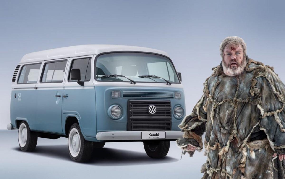 Hodor é uma Volkswagen Kombi (Bárbara Angelo | AutoPapo). Transformamos reis, rainhas, anão, eunuco e companhia em carros enquanto aguardamos pelo episódio final de Game of Thrones.