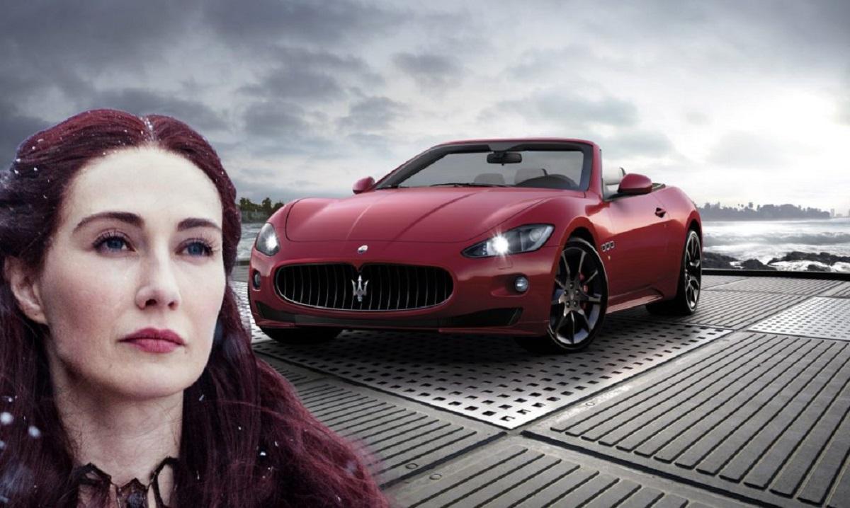 Melisandre é um Maserati GranTurismo Sport (Bárbara Angelo | AutoPapo). Transformamos reis, rainhas, anão, eunuco e companhia em carros enquanto aguardamos pelo episódio final de Game of Thrones.
