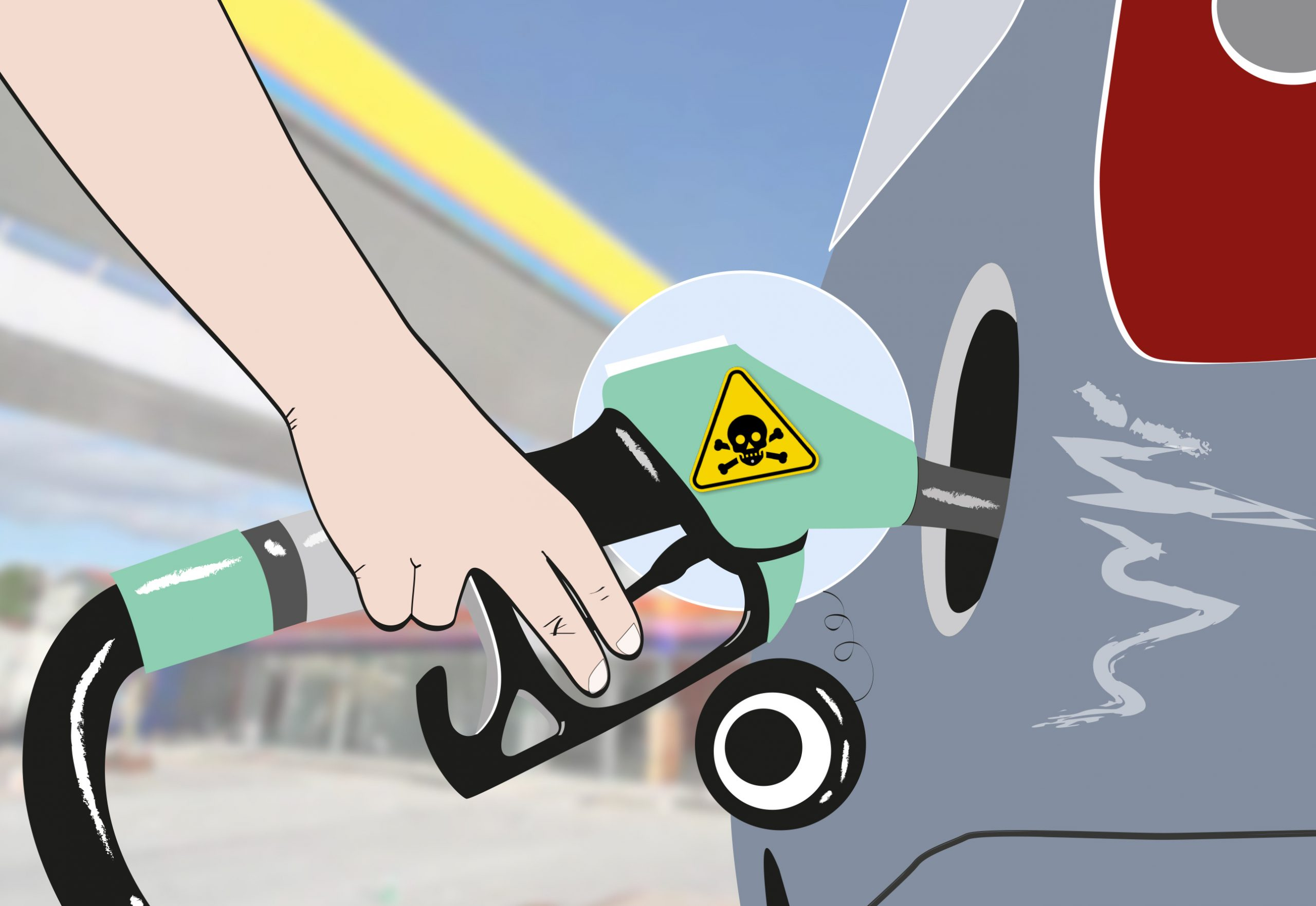 ilustra postos gasolina adulterada