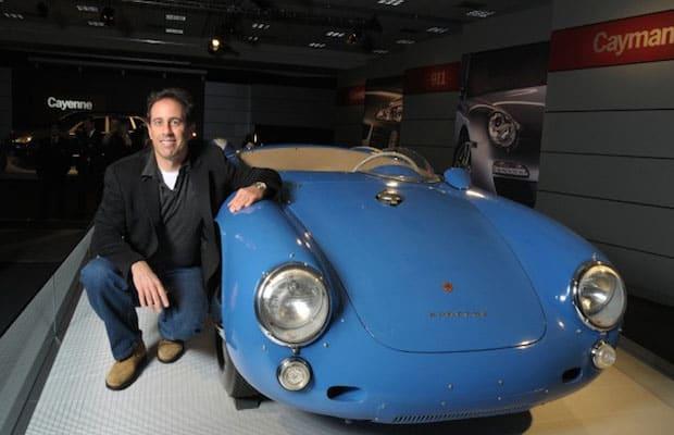 Jerry Seinfeld foi acusado de vender um Porsche falso e repassou a culpa, demonstrando a dificuldade em se comprovar a autenticidade de carros clássicos.
