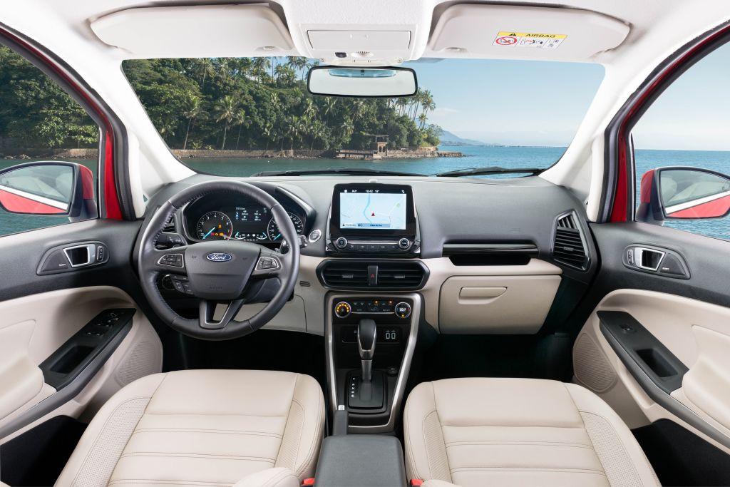 Novo EcoSport Titanium Interior 10