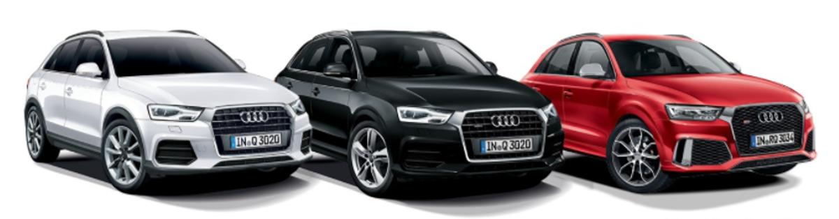 Por problemas nos airbags dianteiros do passageiro, Audi convoca três unidades dos modelos A3 Sedan 1.4 e RS Q3 para recall. Serviço já pode ser agendado em uma das concessionárias da marca.