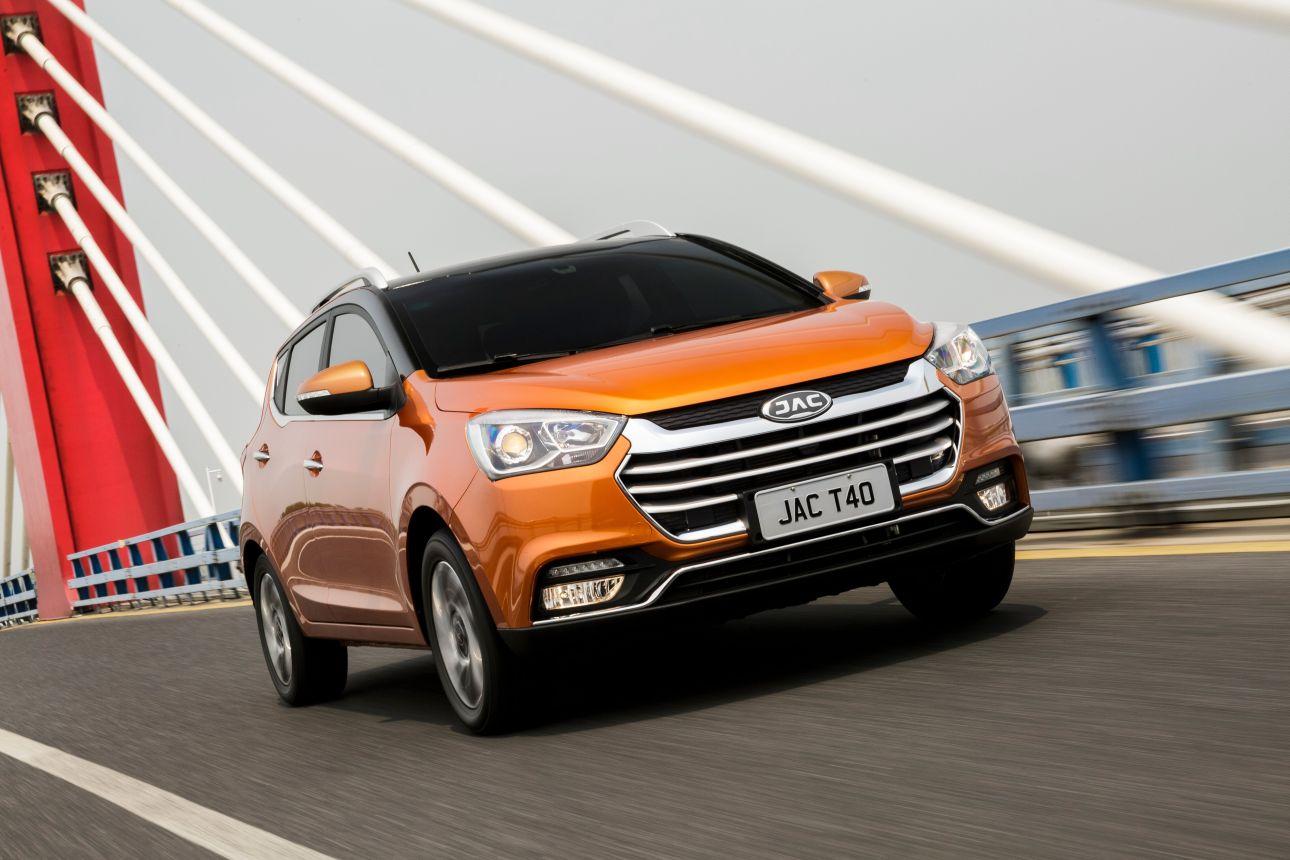 SUV T40 deverá ser um dos modelos produzidos pela chinesa JAC em Goiás