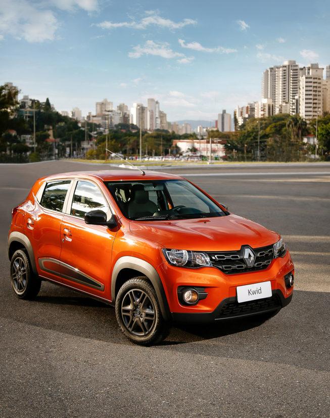 Renault Kwid é um dos veículos com consumo de combustível mais baixo do país