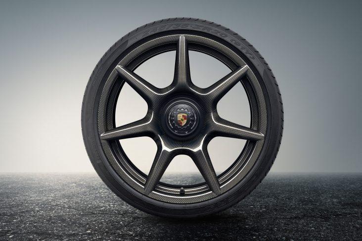 1063708 porsche 20 inch 911 turbo carbon wheel for the 911 turbo s exclusive series 2017 porsche ag