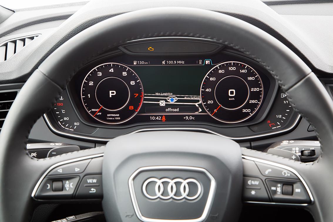 Volante do novo Audi Q5
