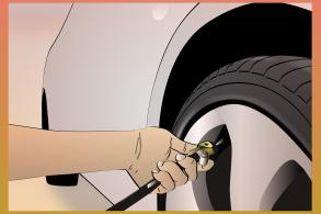 Por que a calibragem dos pneus varia tanto?