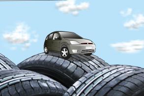 Qual pneu dura mais: os originais ou os comprados depois?