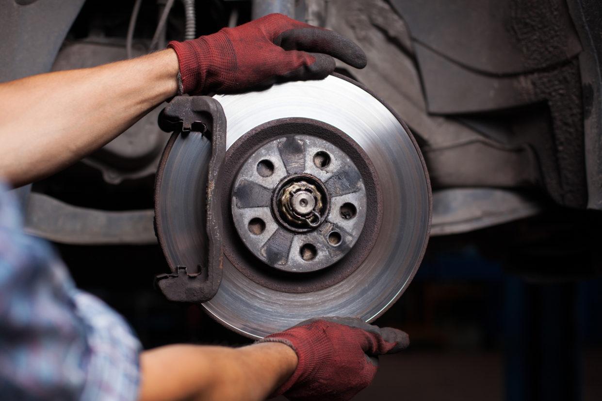 manutenção de freios a disco e pastilhas