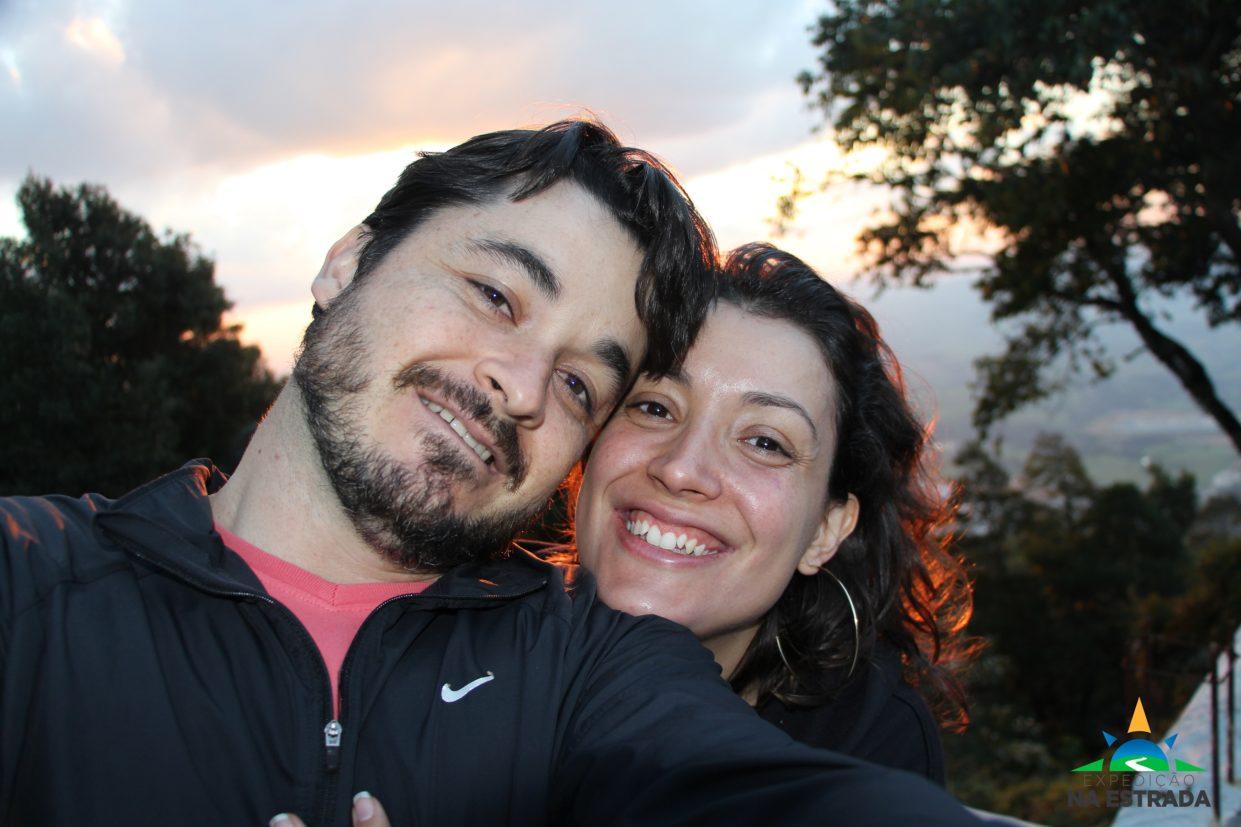 André e Júlia (Expedição na Estrada/Divulgação)