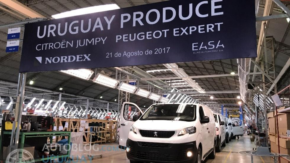 Nordex, em Montevidéu iniciou montagem de Expert e Jumpy Roberto Nasser
