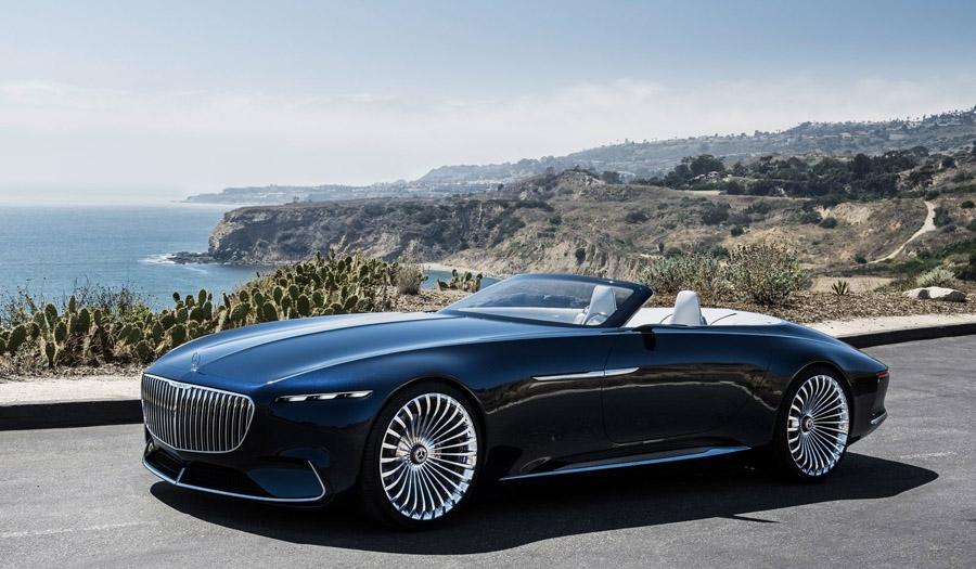"""Conceito Mercedes-Maybach Vision 6 é do tipo """"chegou, está chegando"""" Roberto Nasser"""