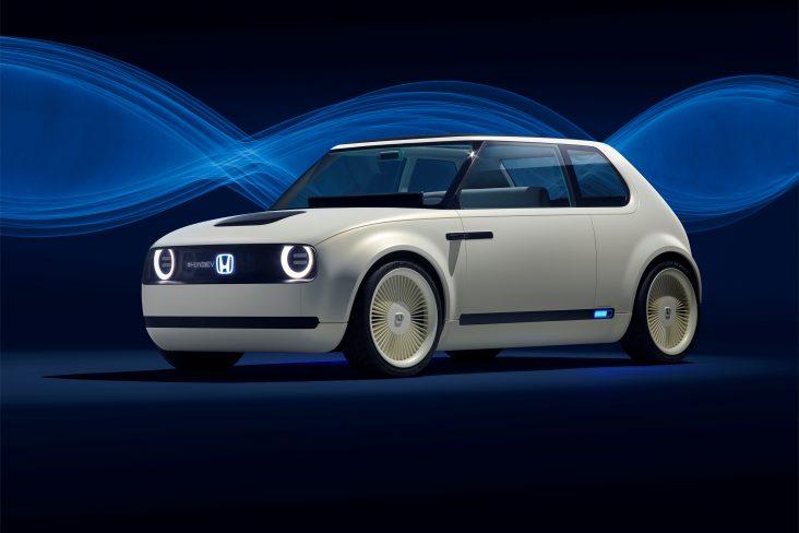 113866 Honda Urban EV Concept unveiled at the Frankfurt Motor Show