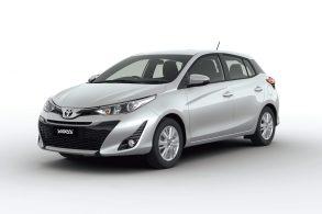 Toyota anunciou que vai lançar Yaris hatch e sedã