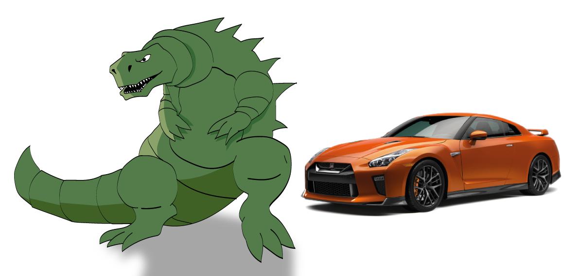 Nissan GT-R Godzilla Impotência é considerado um defeito imperdoável pelos brasileiros, que massacram modelos com esse mal com apelidos para carros cruéis.
