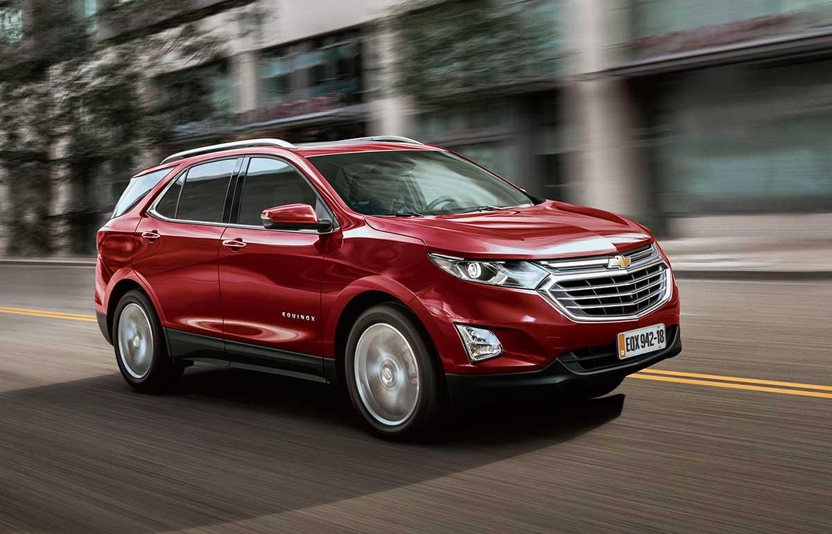 A Chevrolet convocou o Equinox 2018 para realização de um recall dos freios. Problema nos pistões das pinças coloca em risco ocupates e terceiros.