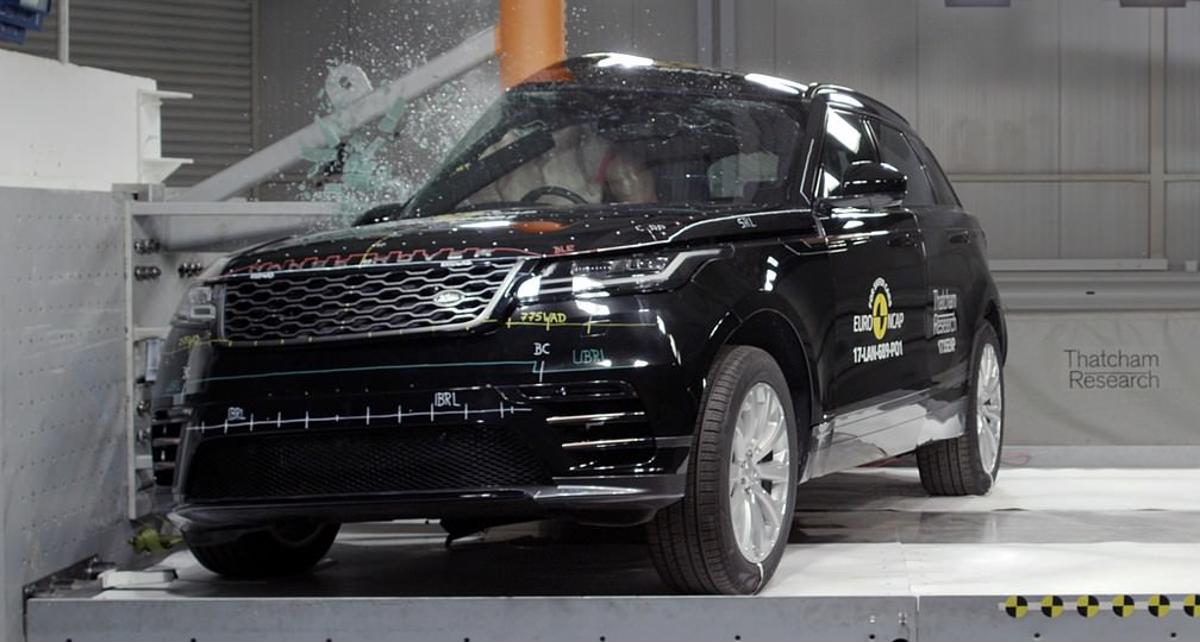 crash test Euro NCAP Range Rover Velar