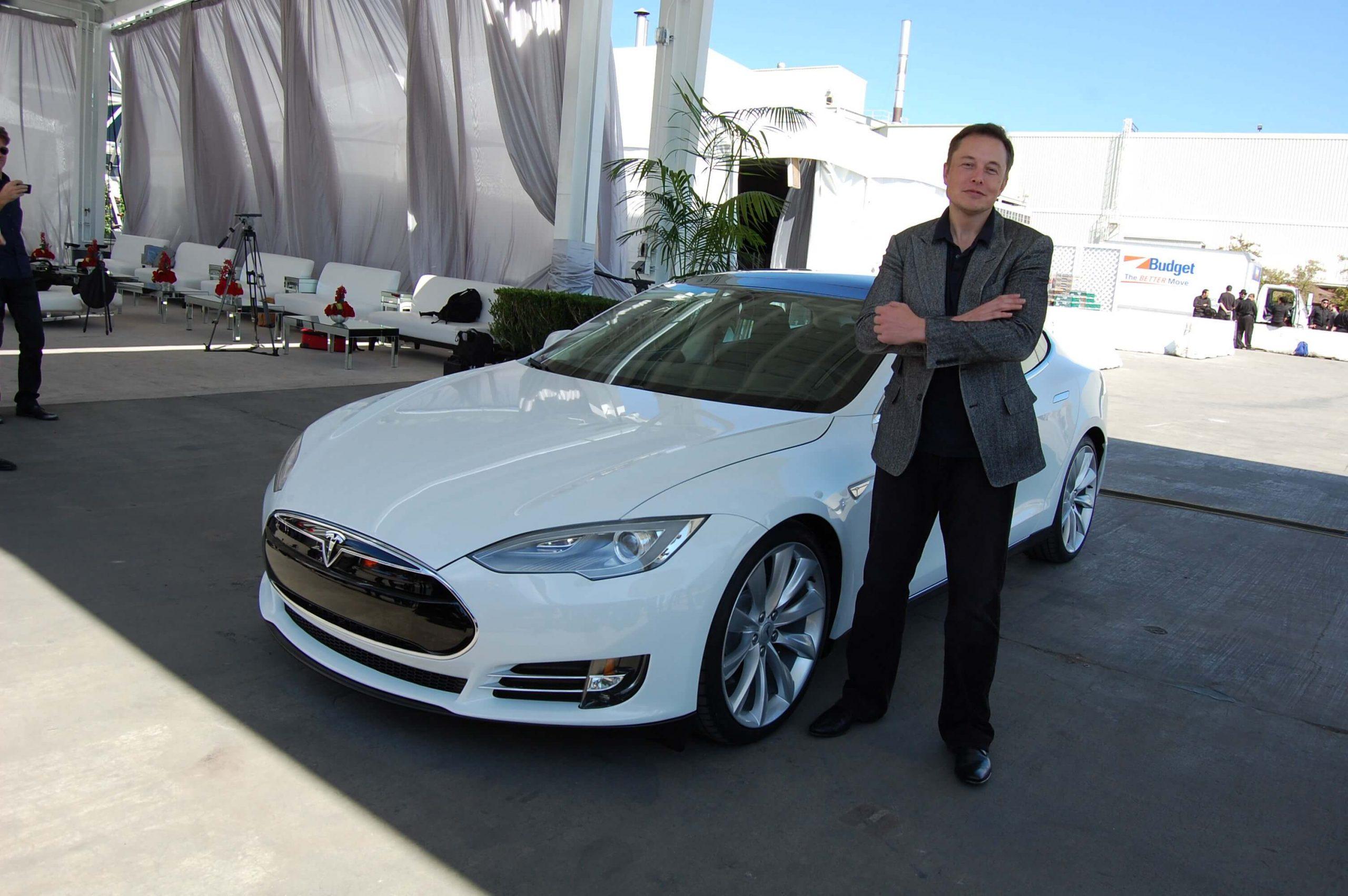 Elon Musk Tesla Factory Fremont CA USA 8765031426 2