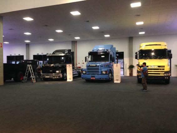 Scania vários modelos (Bárbara Angelo/AutoPapo)